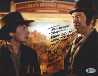 """Burton Gilliam Signed """"Back To The Future Part III"""" 8x10 Photo with Multiple Inscriptions (Beckett COA) at PristineAuction.com"""
