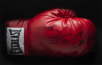 """Sylvester Stallone & Carl Weathers Signed """"Rocky"""" 18x19x4 Custom Framed Boxing Glove Shadowbox Display (Beckett LOA) at PristineAuction.com"""