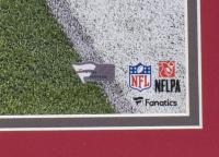 Tom Brady Signed Patriots 22x27 Custom Framed Photo Display (Fanatics Hologram) at PristineAuction.com