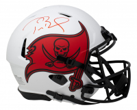 Tom Brady Signed Buccaneers Full-Size Authentic On-Field Lunar Eclipse Alternate Speed Helmet (Fanatics Hologram) at PristineAuction.com