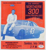 "Richard Petty Signed ""Northern 300"" Original NASCAR Race Program (PSA COA) (See Description) at PristineAuction.com"