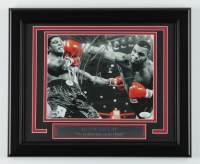 Mike Tyson Signed UFC 13.5x16.5 Custom Framed Photo Display (JSA COA) at PristineAuction.com