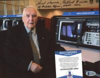 Hugh Harris Signed NASA 8x10 Photo with Multiple Inscriptions (Beckett COA) at PristineAuction.com