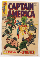 """1968 """"Captain America: Slave Of The Skull!"""" Issue #104 Marvel Comic Book (See Description) at PristineAuction.com"""