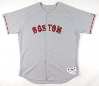 "David Ortiz Signed Red Sox Game-Used Jersey Inscribed ""Por Mi Hermano Felix Rodriguez De Su Hermano"" (JSA ALOA & Mears A10) at PristineAuction.com"