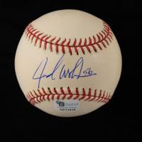 Jarrod Washburn Signed OML Baseball (JSA COA) at PristineAuction.com