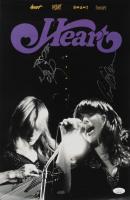 Ann Wilson & Nancy Wilson Signed Heart 11x17 Poster Print (JSA COA) at PristineAuction.com