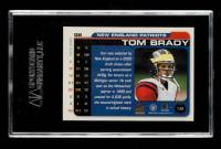 Tom Brady 2000 Paramount #138 RC (SGC 8) at PristineAuction.com