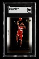 LeBron James 2003 Upper Deck LeBron James Box Set #25 (SGC 9) at PristineAuction.com