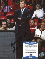 """Geno Auriemma Signed Team USA 8x10 Photo Inscribed """"Best Wishes!"""" (Beckett COA) at PristineAuction.com"""