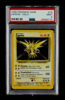 Zapdos 1999 Pokemon Base Unlimited #16 Holo (PSA 9) at PristineAuction.com