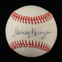 Nancy Kerrigan Signed ONL Baseball (JSA COA) at PristineAuction.com
