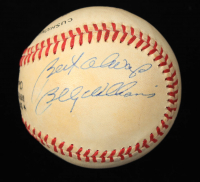 "Billy Williams Signed ONL Baseball Inscribed ""Best Always"" (JSA COA) (See Description) at PristineAuction.com"