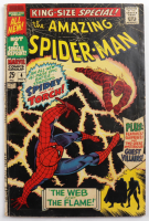 """1967 """"Amazing Spiderman: The Web and The Flame"""" Issue #4 Marvel Comic Book at PristineAuction.com"""
