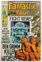 """1969 """"Fantastic Four"""" Issue #92 Marvel Comic Book at PristineAuction.com"""