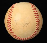 Steve Sax Signed ONL Baseball (JSA COA) (See Description) at PristineAuction.com