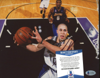 Mike Bibby Signed Hawks 8x10 Photo (Beckett COA) at PristineAuction.com