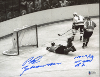 """Red Berenson Signed Blues 8x10 Photo Inscribed """"Nov, 7 /68"""" & """"1st Goal Of 6"""" (Beckett COA) at PristineAuction.com"""