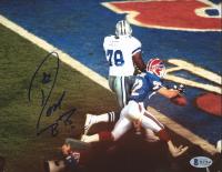 Don Beebe Signed Bills 8x10 Photo (Beckett COA) at PristineAuction.com