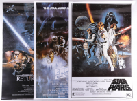 """Set of (3) """"Star Wars"""" 27x40 Movie Posters at PristineAuction.com"""