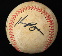 Kevin Brown & Jay Powell Signed Baseball (JSA COA) (See Description) at PristineAuction.com