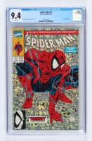 """1990 """"Spider-Man: The Legend Of The Arachknight"""" Issue #1 Marvel First Issue Comic Book (CGC 9.4) at PristineAuction.com"""