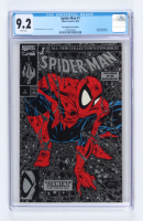 """1990 """"Spiderman: The Legend Of The Arachknight"""" Issue #1 Silver Edition Marvel First Issue Comic Book (CGC 9.2) at PristineAuction.com"""