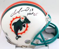 "Dan Marino Signed Dolphins Throwback Mini-Helmet Inscribed ""HOF 05"" (Beckett Hologram) at PristineAuction.com"