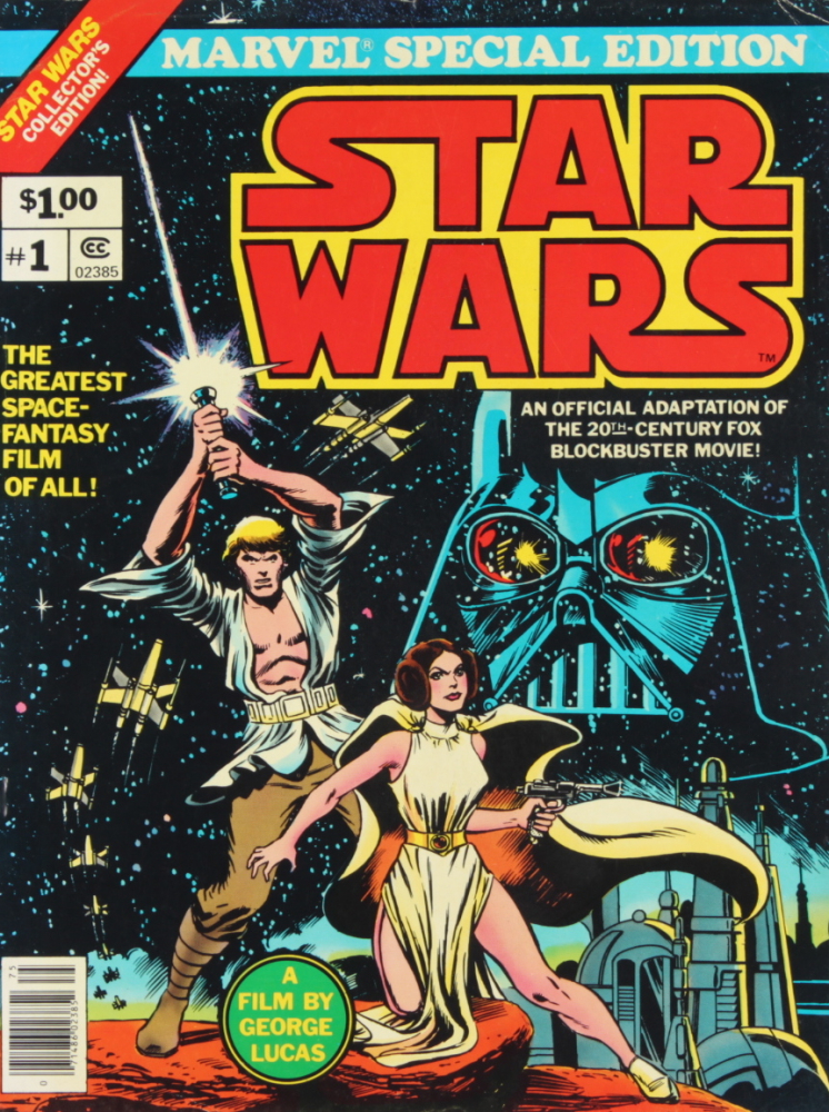"""1977 """"Star Wars"""" Vol. 1 Issue #1 Marvel Special Edition Comic Book (See Description) at PristineAuction.com"""