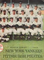 1960 Original Yankees World Series Program at PristineAuction.com