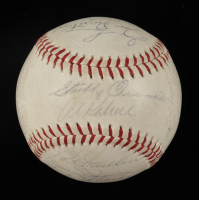1960 Tigers OAL Baseball Team-Signed by (25) With Al Kaline, Mickey Lolich, Norm Cash & Gates Brown (JSA ALOA) at PristineAuction.com