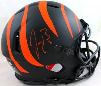 Joe Burrow Signed Bengals Full-Size Authentic On-Field Eclipse Alternate Speed Helmet (Fanatics Hologram) at PristineAuction.com