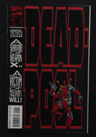 """1993 """"Dead-Pool"""" Issue #1 Marvel 12x17 Custom Framed Comic Book Display at PristineAuction.com"""