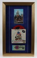 Disneyland Fantasyland's 12x20 Custom Framed Print Display with Vintage Film Reel & Coupon Booklet at PristineAuction.com
