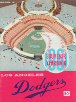 1961 Dodgers Souvenir Yearbook at PristineAuction.com