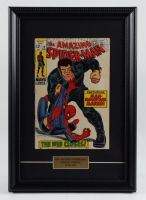 """Vintage 1969 """"The Amazing Spider-Man"""" Issue #73 12x17 Custom Framed Marvel Comic Book at PristineAuction.com"""