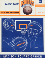 1966-67 Knicks Original Madison Square Garden Souvenir Program (See Description) at PristineAuction.com