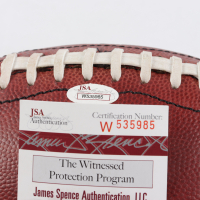 """Emmitt Smith Signed Official NFL """"The Duke"""" Game Ball Football (JSACOA) at PristineAuction.com"""