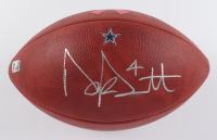 "Dak Prescott Signed Official NFL ""The Duke"" Game Ball Football (JSA COA) at PristineAuction.com"
