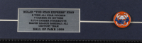 "Nolan Ryan Signed LeRoy Neiman ""Nolan Ryan"" 13x18 Custom Framed Print Display with Astros Lapel Pin (PSA COA) at PristineAuction.com"