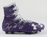 Ray Lewis Signed Under Armour Football Cleat (Beckett COA) at PristineAuction.com