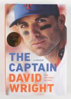 "David Wright Signed ""The Captain: A Memoir"" Hardcover Book (JSA COA) at PristineAuction.com"