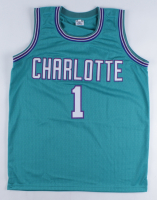Muggsy Bogues Signed Jersey (Beckett COA) at PristineAuction.com