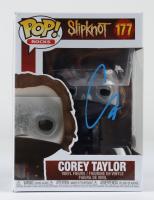 "Corey Taylor Signed ""Slipknot"" #177 Funko Pop! Vinyl Figure (Beckett COA) (See Description) at PristineAuction.com"
