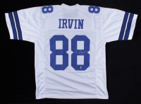 """Michael """"Playmaker"""" Irvin Signed Jersey (Beckett Hologram) at PristineAuction.com"""