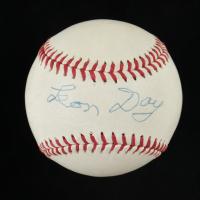 Leon Day Signed Baseball (Beckett COA) at PristineAuction.com