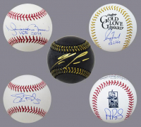 Schwartz Sports Baseball DOUBLE PLAY Signed Mystery Box - Series 3 (Limited to 100) (1 - Baseball & 1 - Full Size Bat IN EVERY BOX!!!) at PristineAuction.com
