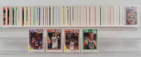 Complete Set of (179) 1989-90 Fleer Basketball Cards with #8 Larry Bird, #21 Michael Jordan, #23 Scottie Pippen, #77 Earvin Johnson at PristineAuction.com