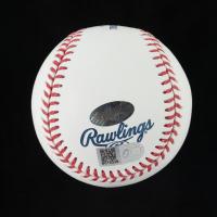 Nolan Ryan Signed OML Hall of Fame Logo Baseball (Beckett COA, AIV Hologram & Ryan Hologram) at PristineAuction.com