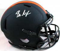 Baker Mayfield Signed Browns Full-Size Authentic On-Field Eclipse Alternate Speed Helmet (Beckett Hologram) at PristineAuction.com